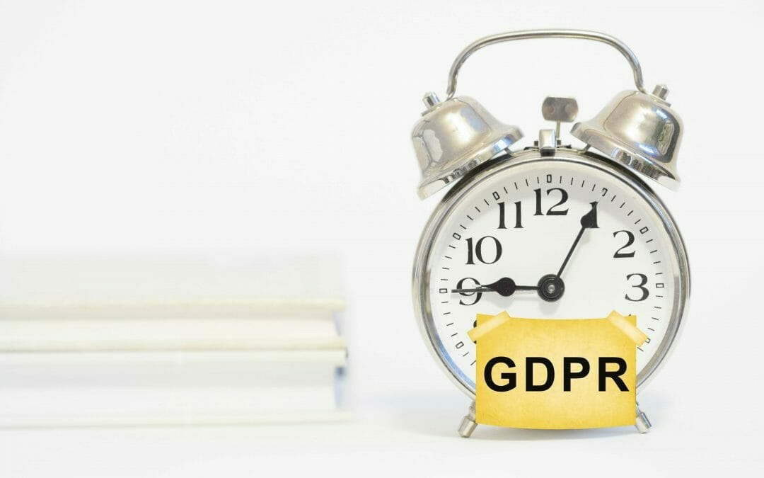 GDPR – Time is ticking