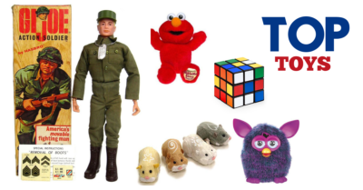 Top toys from over the years